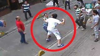 Boxeador irlandés se pelea con decenas de turcos en las calles de Estambul - Like Bud Spencer