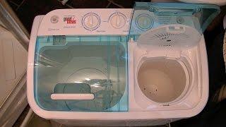 getlinkyoutube.com-Good Ideas Compact Twin Tub Washing Machine Demonstration & Review