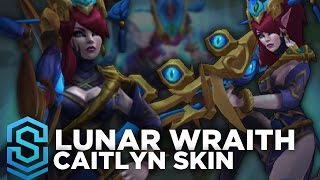 getlinkyoutube.com-Lunar Wraith Caitlyn Skin Spotlight - Pre-Release - League of Legends