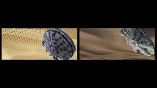 getlinkyoutube.com-Lego Star Wars - The Force Awakens Teaser Trailer Comparison