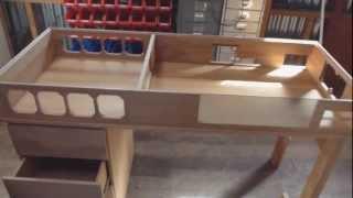 getlinkyoutube.com-Custom Made Watercooled Desk - Part 1