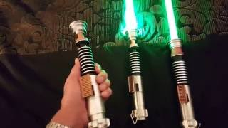 getlinkyoutube.com-Luke Skywalker Lightsaber Reviews