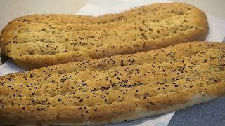 الخبز الايراني (نان بربري)