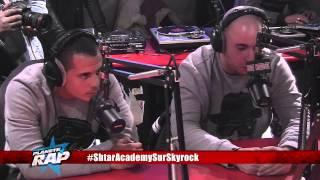 Shtar Academy - Freestyle avec Tunisiano et Bakar (Live Planète Rap)