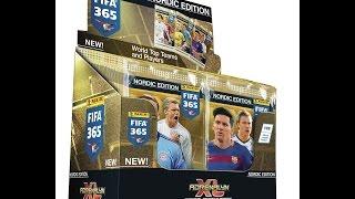 █▬█ █ ▀█▀ ☆ PANINI ADRENALYN XL FIFA 365 - BOX NORDIC EDITION #2 ☆ MEGA UNBOXING !!!! 2/5