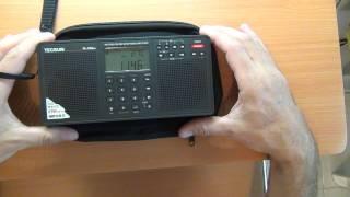 getlinkyoutube.com-Consumer Radio - HAM / Amateur Radio  - Antennas: Tecsun PL-398MP FM / SW Radio
