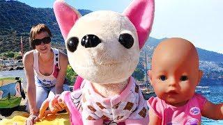 getlinkyoutube.com-Куклы и игры для девочек. КАК МАМА. Едем на море на машине