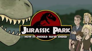 How Jurassic Park Should Have Ended width=