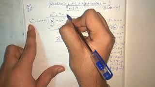 Chapter 2 Exercise 2.4 (Q5) || Maths class 10 || NCERT