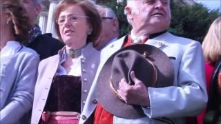 Die Bayernhymne: gesungen auf dem Oktoberfest 2015 von Gigi Pfundmair (Video: Gerd Bruckner)