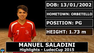 getlinkyoutube.com-Manuel Saladini  - 2015 LudecCup Highlights