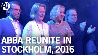 getlinkyoutube.com-ABBA REUNION 2016! Full interview at Mamma Mia! The Party, Stockholm (Subtitles) #Agnetha #Frida