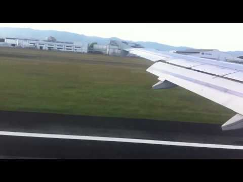 Cebu Pacific landing in Mactan-Cebu International Airport - [HD]