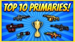 getlinkyoutube.com-TOP 10 PRIMARY GUNS! | Pixel Gun 3D (Special)