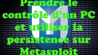 getlinkyoutube.com-Prendre le contrôle d'un PC et utiliser la persistence avec Metasploit sur Kali Linux [FRANCAIS]