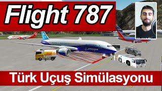 getlinkyoutube.com-Türk Yapımı Uçuş Simülasyonu - Flight 787 (İlk Bakış)