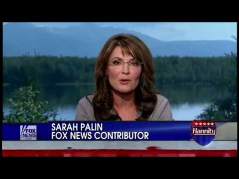 "Sarah Palin calls Obama ""half white or half black"" wants him to ""refudiate"" NAACP"