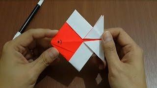 getlinkyoutube.com-Cara Membuat Ikan Dengan Kertas Origami dengan Mudah