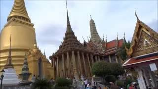 Thailand, Bangkok: A Walk around the stunning 'Grand Palace'