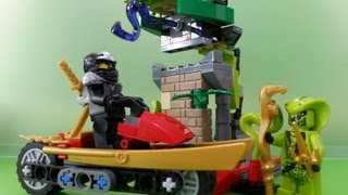 getlinkyoutube.com-레고 닌자고 브릭마스터 (Brickmaster Ninjago) Review