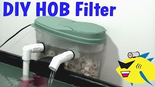 getlinkyoutube.com-How To Make: DIY Hang On Back Filter (HOB) Aquarium Filter