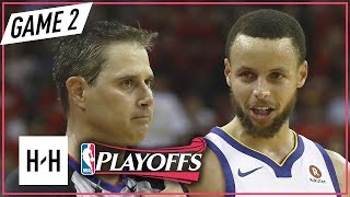 Golden State Warriors vs Houston Rockets - Game 2 - Highlights   May 16, 2018   2018 NBA Playoffs