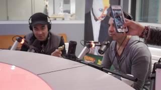 Omar Chaparro y Adrian Uribe con Erazno y La Chokolata