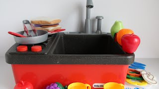 getlinkyoutube.com-Little Tikes Splish Splash Sink and Stove - Kitchen Toys for Children