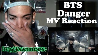 "getlinkyoutube.com-BTS ""Danger"" FADED MV Reaction 