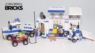 getlinkyoutube.com-Lego City 60139 Mobile Command Center Speed Build