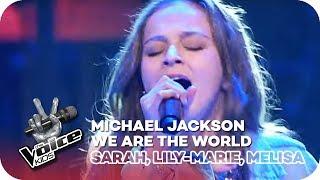 We Are The World - Michael Jackson (Sarah, Lily-Marie, Melisa)   Battles   The Voice Kids   SAT.1
