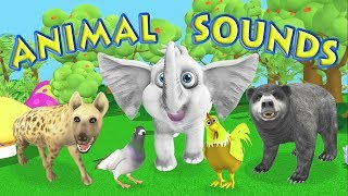 getlinkyoutube.com-The Animal Sounds Song - Children's Song/Nursery Rhyme for Babies, Toddlers & Kids