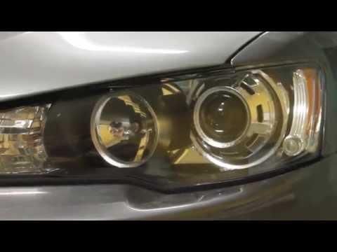 Mitsubishi Lancer X bi-xenon HELLA 4 Intemo