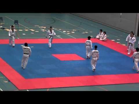 Kukkiwon Korean Worldfamous Taekwondo Demoteam in Netherlands 2011-4-6 (2/5)