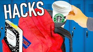 Weird Back To School Life Hacks EVERY Student Should Know!