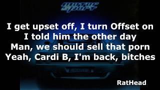 MotorSport - Migo feat  Nicki Minaj & Cardi B lyrics