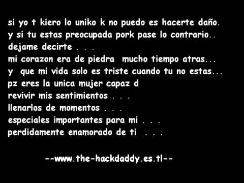 Yo Me Muero Por Ti de Hackdaddy Letra y Video