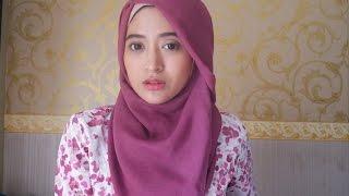 getlinkyoutube.com-#60 Hijab Tutorial - Natasha Farani - Paris (Segi Empat)