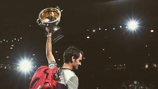 getlinkyoutube.com-Roger Federer - Welcome back King ► AO 2017 Top 30 Points (HD)