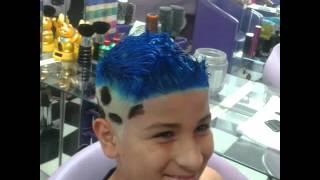 getlinkyoutube.com-Corte de cabelo masculino com desenho