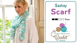 How to Crochet a Scarf: Sashay by Red Heart Boutique