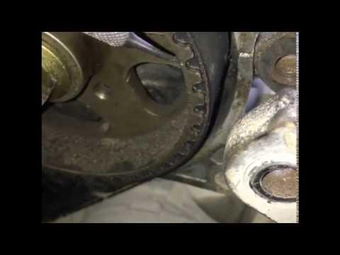 Toyota vista(cresta) Замена ремня ГРМ (2c, 3c)
