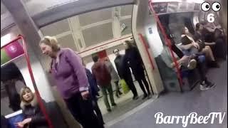 getlinkyoutube.com-Un homme avec un gros penis excite les femmes dans le train