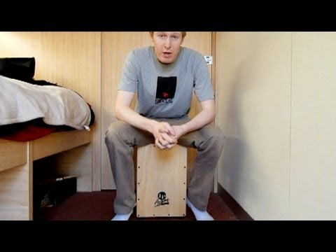 Cajon Lesson: Double Paradiddle