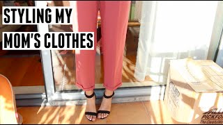 Styling My Mom's Clothes