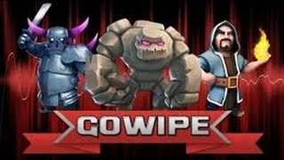 getlinkyoutube.com-Clash of Clans:  GoWiPe 3 star strategy at TH8! EXTREMELY powerful