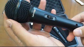 getlinkyoutube.com-[PT-BR] Unboxing Microfone xm1800s Behringer e cabo Santo Angelo