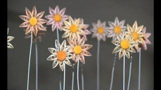 getlinkyoutube.com-Quilled Flower Tutorial