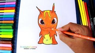 getlinkyoutube.com-How to draw BURPY Infurnus (Slugterra) | Como dibujar la babosa infierno de Bajoterra