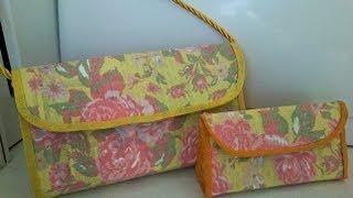 getlinkyoutube.com-Reciclagem - Bolsa feita com caixa de leite